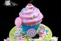 Κ-Candies and giant cup cakes