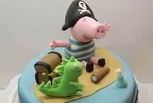 Π-Peppa pig cakes