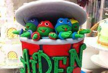 Νinja turtles  cakes