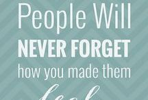 Inspirational Quotes / When you are planning a funeral or preparing a memorial think of your the loss you had and remember all the inspiration this person gave you!