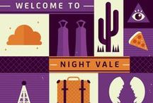 Night Vale / I may or may not be a little bit obsessed. But after few minutes of listening to Welcome to Night Vale...you'd fell in love with it too. So stop looking frightened by this unusal piece of art and listen to Cecil!