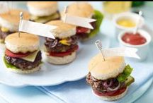 Burger Recipes / From classic beef burgers to tender chicken burgers and juicy pork burgers  — these summer food recipes make brilliant BBQ ideas  / by Tesco Food