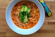 Mexican Soups / In Mexico there are many delicious and cozy varieties of soups. Here are some of them.