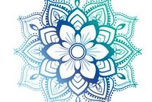 Mandala / Mandalas - Peace of Soul - Art - Drawn Mandala - La Pace dell'Anima - Arte - Disegno