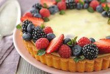Cheesecake & Cream Pie / Cheesecake and Cream Pie  Healthy Cheesecake and Cream Pie I love this, and you!?