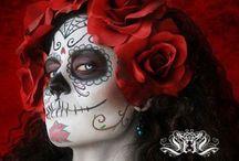 Day of the Dead...Sugar Skulls... / by Kathy Wheeler Waller