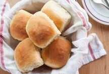 Bread / I can't live on bread alone...but these recipes may make me want to think twice about trying it!!