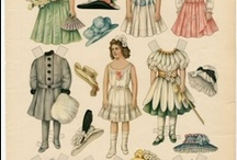 Dollhouse paper dolls