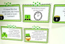 Math Ideas / Games, activities, printables, and ideas to help make teaching math at the elementary level easy, fun and engaging #math #elementary #iteachmath #games #printables