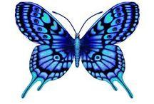 Motýle (butterflies) / Obrázky použiteľné na rôzne druhy ručných prác ako je dekupáž,transfer na polymérové hmoty,šperky a prívesky zalievané krištáľovou živicou,kartičky a pod.
