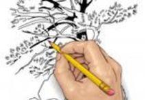 Návody na kreslenie,maľovanie... / by Iveta Debnárová