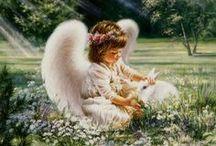 Anjeli,Ježiš Kristus,Panna Mária