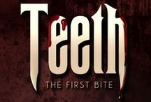 Teeth / Medical intern Thomas awakes in a blood-drenched basement and the realisation that his life must change forever. After all, how can he practise medicine when the smell of blood turns him into a vicious killer?  Spencer thinks being a vampire is better than any teen movie made it out to be. Now he must train Thomas and make his mentor proud.  One mistake risks more than either are willing to lose, and a single broken law could turn them from predators to prey.