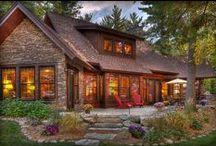 Casas lindas / Ambientes e fachadas de casas