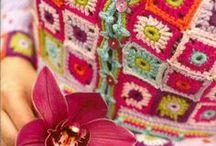 Chrochet and knitting - Hekling og strikking