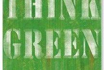Go Green / BIO/ECO