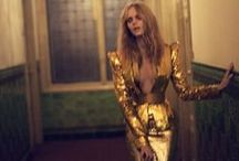 Fashion | Gold and Glitter / Inspirational Images of our favorite color: Gold