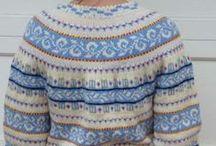 Knitting Fair Isle - Rundfelling og raglanfelling
