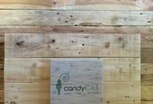 CandyCat Products. / Home Decor | Furniture | Animal Enrichment  CandyCat is the first and only company in the world currently printing direct on to pallet wood.  We do custom boards, high end animal enrichment pieces such as solid wood floating cat shelves. Handmade Furniture and more!