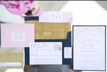 Navy + Fuchsia Wedding / If you're going to pin everything... Then you might as well follow..