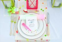 Neon Wedding / If you're going to pin everything... Then you might as well follow..
