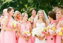 Yellow + Fuchsia Wedding / If you're going to pin everything... Then you might as well follow..