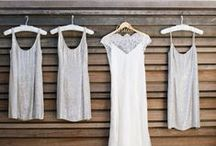 Grey + White Wedding / If you're going to pin everything... Then you might as well follow..