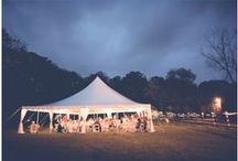 In-tents Weddings /  These weddings are in-tents!