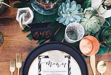 Dinner Party Ideas / Hosting a dinner party soon? We've gathered our favorite dinner party tips, decor ideas and recipes to try.