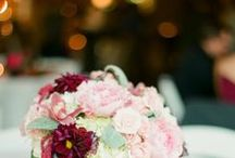 Marsala + Gold Wedding / If you're going to pin everything... Then you might as well follow..