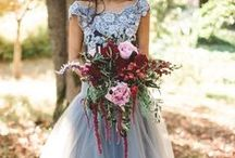 Blue + Marsala Wedding / If you're going to pin everything... Then you might as well follow..
