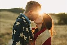 Patriotic Summer Wedding / If you're going to pin everything... Then you might as well follow..