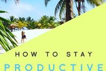 Productivity Tips / Get your sh♥t done, whether you're in a home office or under a palm tree.   Day Job Optional: Expert training & inspiration for every aspiring writer who wants to quit the 9-5 and be their own boss. Check us out at http://dayjoboptional.com