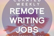 Writing Jobs / Stop stressing over finding writing jobs! We curate our favorite remote writing gigs each week at DJO.   Day Job Optional: Expert training & inspiration for every aspiring writer who wants to quit the 9-5 and be their own boss. Check us out at http://dayjoboptional.com