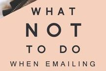 Email Tips / Tips for writing better emails & optimizing communication.   Day Job Optional: Expert training & inspiration for every aspiring writer who wants to quit the 9-5 and be their own boss. Check us out at http://dayjoboptional.com