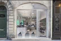 SHOP: Edmond Paris / Do your shoes shine in the right light? Edmond Paris in Saint-Germain is a shoe haven for men. Only the finest brands with a cool edgy style are represented in the highly fashionable shop. Put into perspective by Occhio Sento verticale, Sento faro and Sento filo.