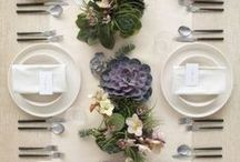Centerpieces & Tablescapes / Festive Tables