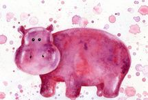 Hippos / I Love Hippos! / by Lora Lape