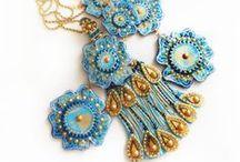 Jewellery by Atelier Jen / My one off handmade papier mâché jewellry.........http://www.atelierjen.com