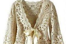 Bolero, cardigan,blusa...croche