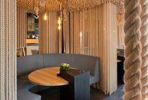 Bar, restaurants, meet point