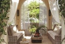 ✿ Outdoor Living ✿ / Sit back and relax! www.organicnaturalpaint.co.uk