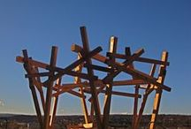 Parkitecture by Handspring / Handspring structures and sculptures in public places