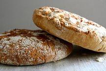 Eltefrie brød / Brød uten elting. Lett å lage, lett å like