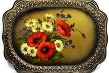 Bauernmalerei, rosemaling e outros.