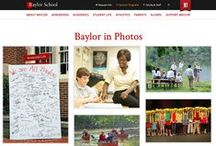 In Photos / Photo-based treatments giving an overview of life at the school. / by Finalsite