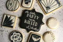 Art Deco Wedding Inspirations / Ideas for my friends Art Deck themed wedding