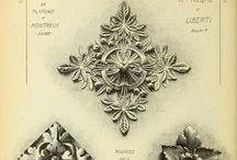 Pattern, ornaments