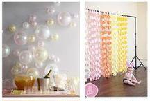 Ideias para festas / Artesanias que podem ser usadas para decoração de festas.