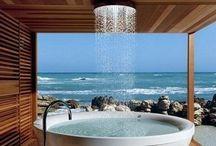Bathroom . Idea idee / Il mio posto preferito . Ho studiato, letto, pensato in bagno